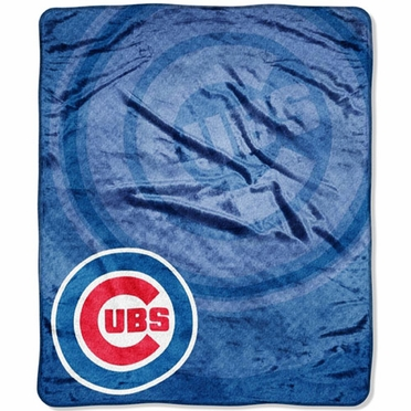 Chicago Cubs Plush Blanket