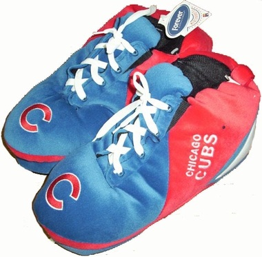 Chicago Cubs Plush Sneaker Slippers