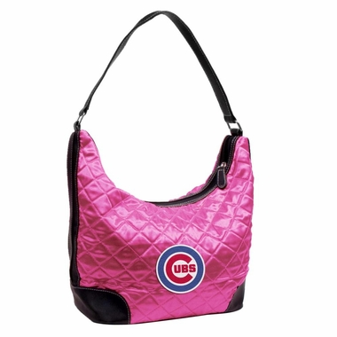 Chicago Cubs Quilted Hobo Purse