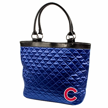 Chicago Cubs Quilted Tote