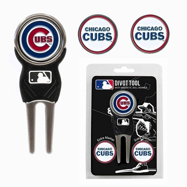 Chicago Cubs Repair Tool and Ball Marker Gift Set