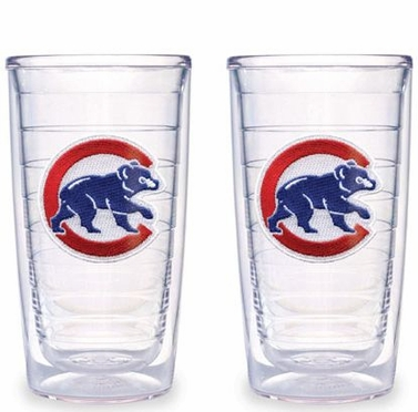 Chicago Cubs (Retro) Set of TWO 16 oz. Tervis Tumblers