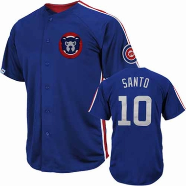 Chicago Cubs Ron Santo Crosstown Rivalry Cooperstown Jersey