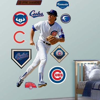 Chicago Cubs Ryne Sandberg Fathead Wall Graphic