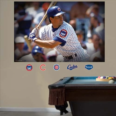 Chicago Cubs Ryne Sandberg Mural Fathead Wall Graphic