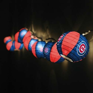 Chicago Cubs Set of 10 Paper Lanterns