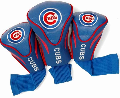 Chicago Cubs Set of Three Contour Headcovers