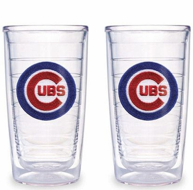 Chicago Cubs Set of TWO 16 oz. Tervis Tumblers