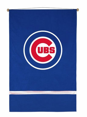 Chicago Cubs MVP Microsuede Wallhanging