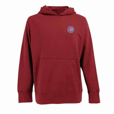 Chicago Cubs Mens Signature Hooded Sweatshirt (Alternate Color: Red)