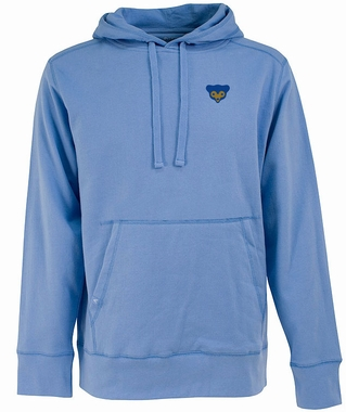 Chicago Cubs Mens Signature Hooded Sweatshirt (Cooperstown) (Team Color: Aqua)