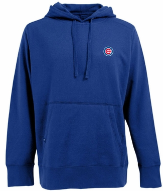 Chicago Cubs Mens Signature Hooded Sweatshirt (Team Color: Royal)