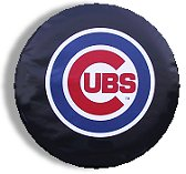 Chicago Cubs Spare Tire Cover (Small Size)