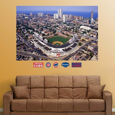 Chicago Cubs Stadium Fathead Wall Graphic