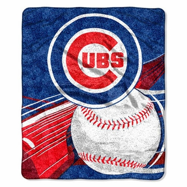 Chicago Cubs Super-Soft Sherpa Blanket