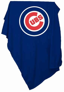 Chicago Cubs Sweatshirt Blanket