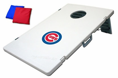 Chicago Cubs Tailgate Toss 2.0 Cornhole Beanbag Game