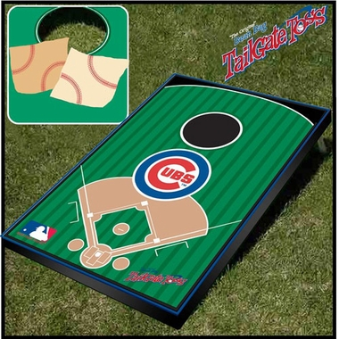 Chicago Cubs Tailgate Toss Cornhole Beanbag Game
