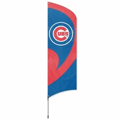 Chicago Cubs Tall Team Flag