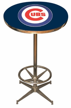 Chicago Cubs Team Pub Table