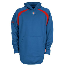 Chicago Cubs Thermabase Hooded Tech Fleece - X-Large