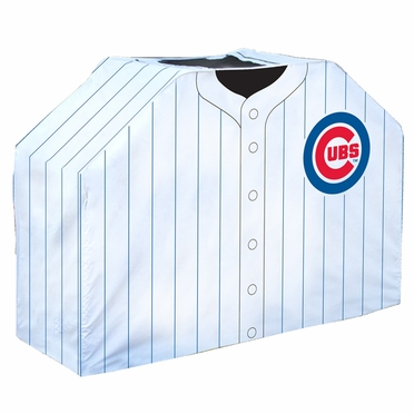 Chicago Cubs Uniform Grill Cover