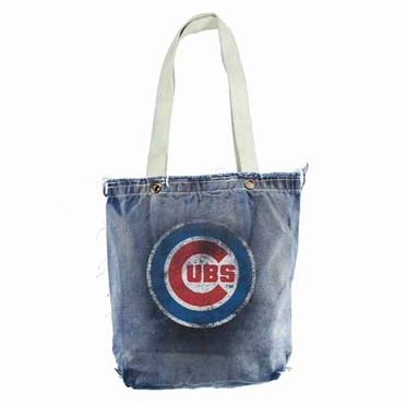 Chicago Cubs Vintage Shopper (Denim)