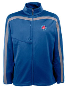 Chicago Cubs Mens Viper Full Zip Performance Jacket (Team Color: Royal) - Large