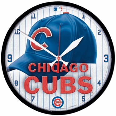 Chicago Cubs Wall Clock