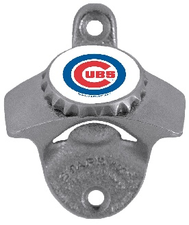 Chicago Cubs Wall Mount Bottle Opener