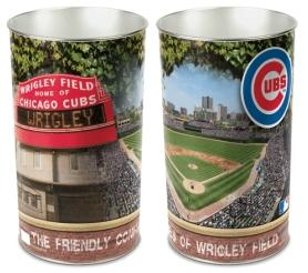 Chicago Cubs Waste Paper Basket