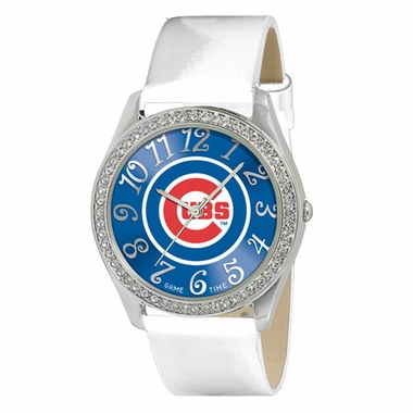 Chicago Cubs Women's Glitz Watch