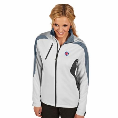 Chicago Cubs Womens Discover Jacket (Color: White)