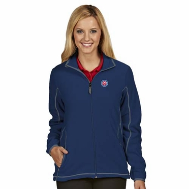 Chicago Cubs Womens Ice Polar Fleece Jacket (Team Color: Royal)