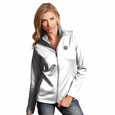 Chicago Cubs Womens Leader Jacket (Color: White)