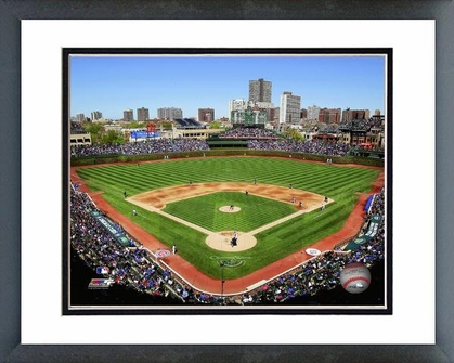 Chicago Cubs Wrigley Field 2012 16x20 Framed and Double-Matted Photo