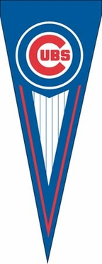 Chicago Cubs Yard Pennant