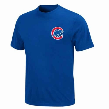 Chicago Cubs YOUTH Official Wordmark T-Shirt - Royal