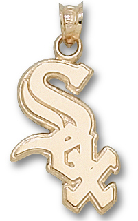 Chicago White Sox 10K Gold Pendant