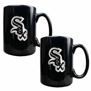 Chicago White Sox 2 Piece Coffee Mug Set