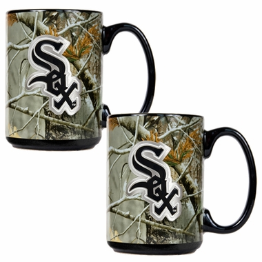 Chicago White Sox 2 Piece Open Field Coffee Mug Set