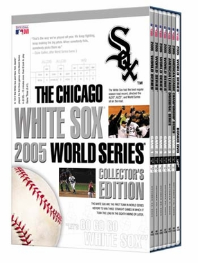 Chicago White Sox 2005 World Series Collecters Edition DVD Set