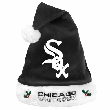 Chicago White Sox 2012 Team Logo Plush Santa Hat