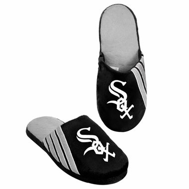 Chicago White Sox 2012 Team Stripe Logo Slippers