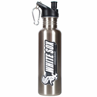 Chicago White Sox 26oz Stainless Steel Water Bottle (Silver)
