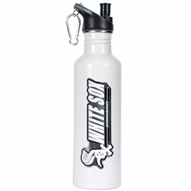 Chicago White Sox 26oz Stainless Steel Water Bottle (White)