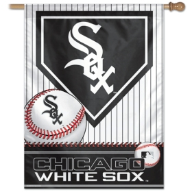 "Chicago White Sox 27"" x 37"" Banner"