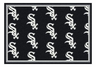 "Chicago White Sox 5'4"" x 7'8"" Premium Pattern Rug"
