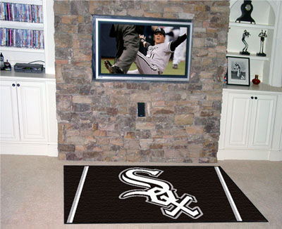 Chicago White Sox 5 Foot x 8 Foot Rug