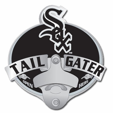 Chicago White Sox Bottle Opener Hitch Cover